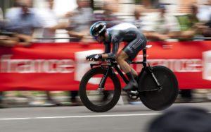 Sprints am Rad für mehr Power