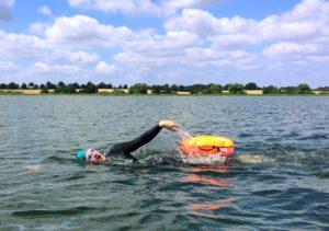 Training im freien Gewässer