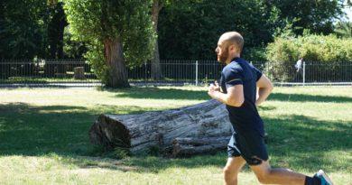 Läufer beim Training