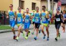Gruppe von Läufern