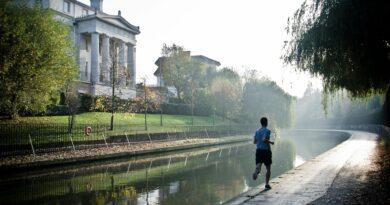 Läufer beim Rennen